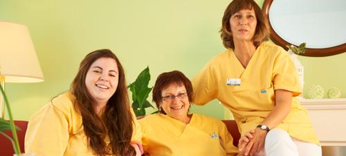 Die Mitarbeiter unseres zukünftigen Pflegeheims in Berlin-Spandau