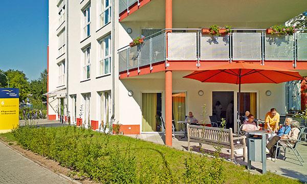 Außenansicht Altenheim Frankfurt