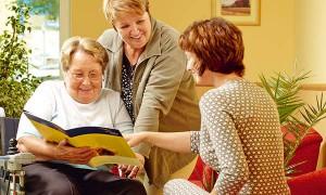 Bewohnerbesichtigung im Pflegewohnstift Leipzig