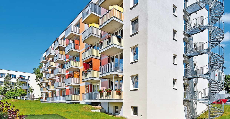 Außenaufnahme Service Wohnen Potsdam Waldstadt