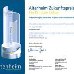 Altenheim-Zukunftspreis