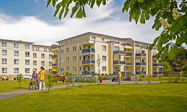 Außenansicht Pflegewohnstift Babelsberg