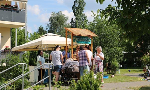 Altenheim-Potsdam-Pflegewohnstift-Babelsberg-Fasching-Sommerfest