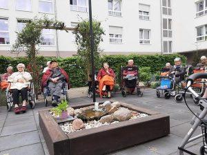 Flötenkonzert im Pflegewohnstift Waldstadt