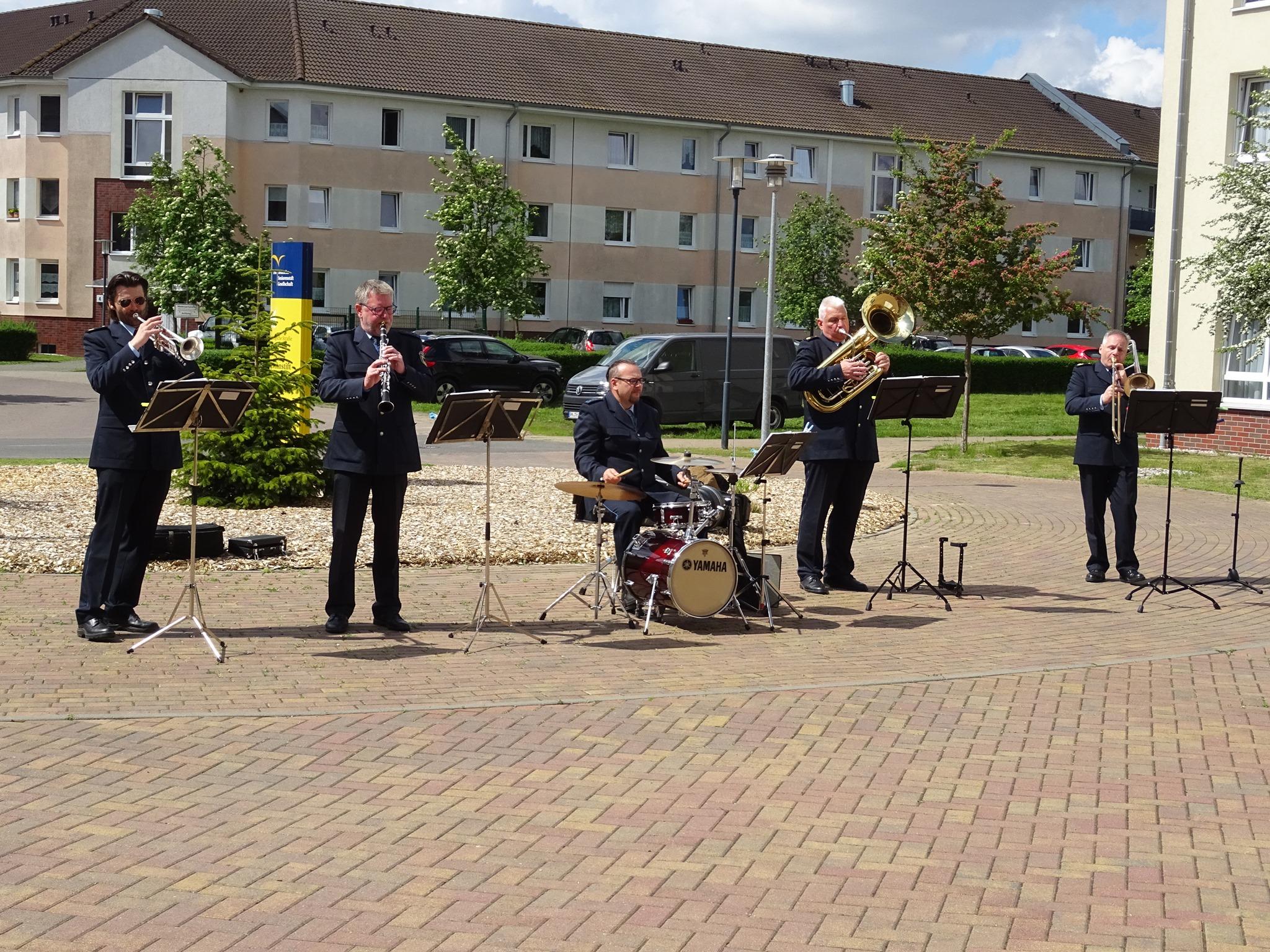Bundespolizeiorchester spielt