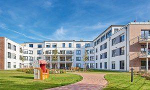 Unser Pflegeheim in Rostock hat einen wunderschönen Garten