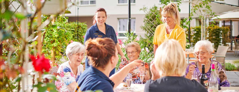 Pflegewohnstift-Potsdam-Garten