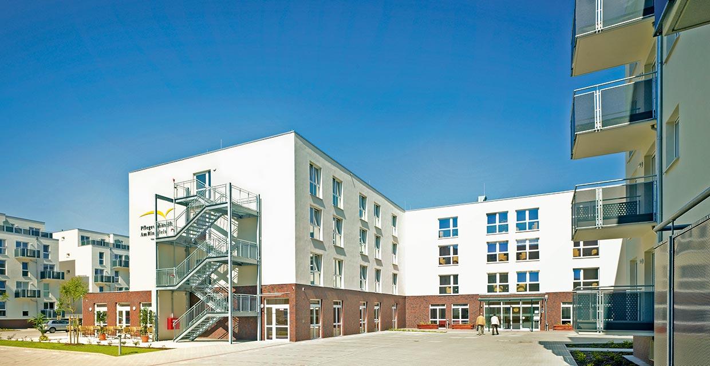 Unser schönes Pflegeheim in Braunschweig von außen
